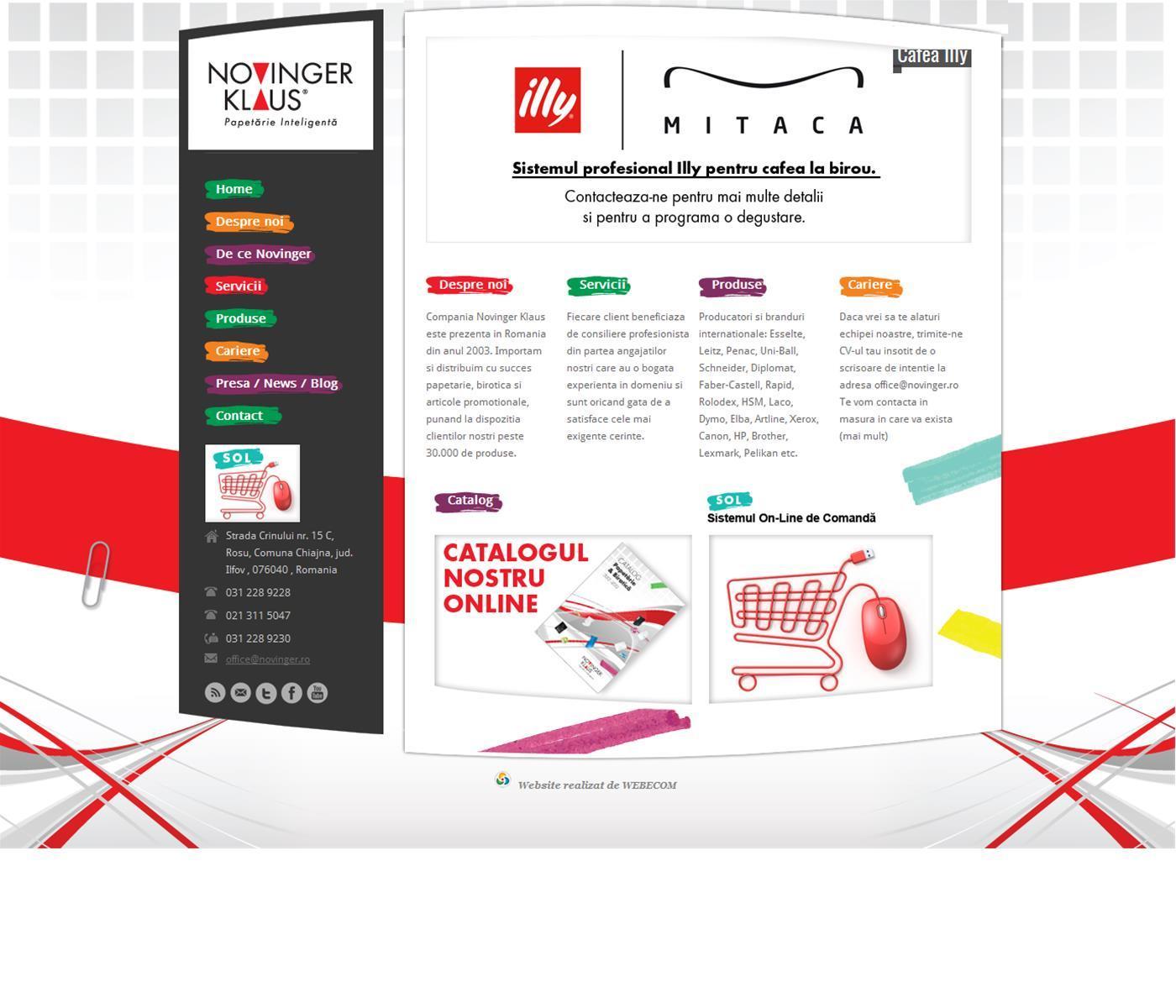 Distribuitori de papetrie, birotica, articole promotionale.